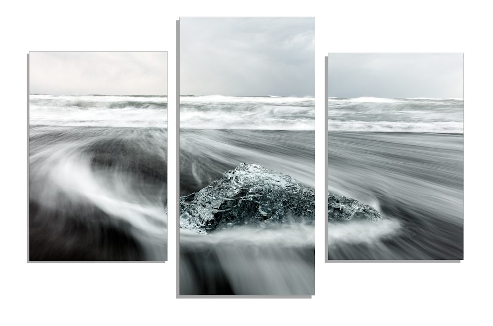 Triptych Ocean Wall Art | Robbie George Photography