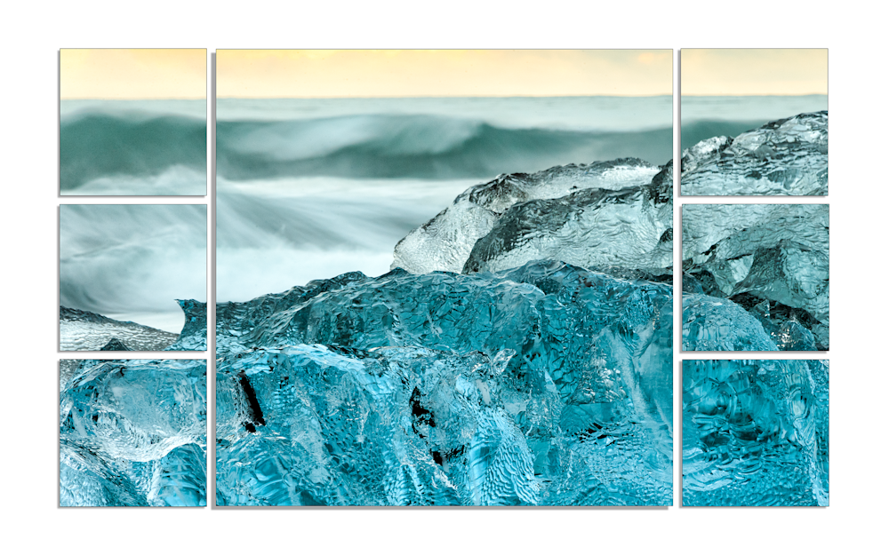 Polytych Ocean Wall Art | Robbie George Photography