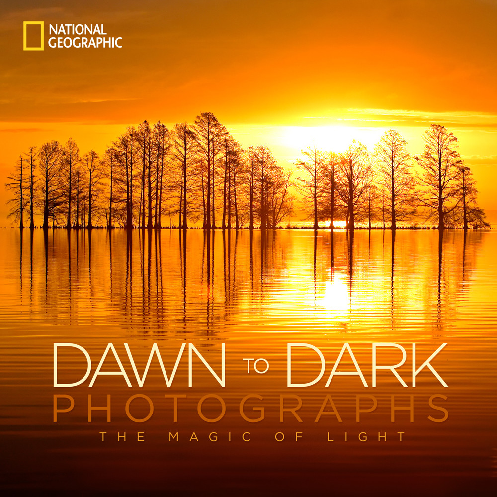 National Geographic Dawn To Dark book. Cover image by Robbie George Photography