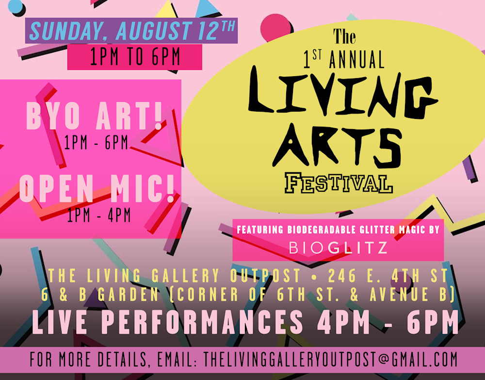 Living Gallery Arts Festival NYC