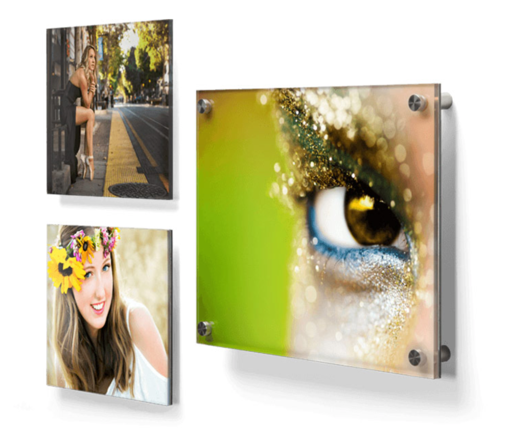 Acrylic Prints-Mounted To Plexiglass