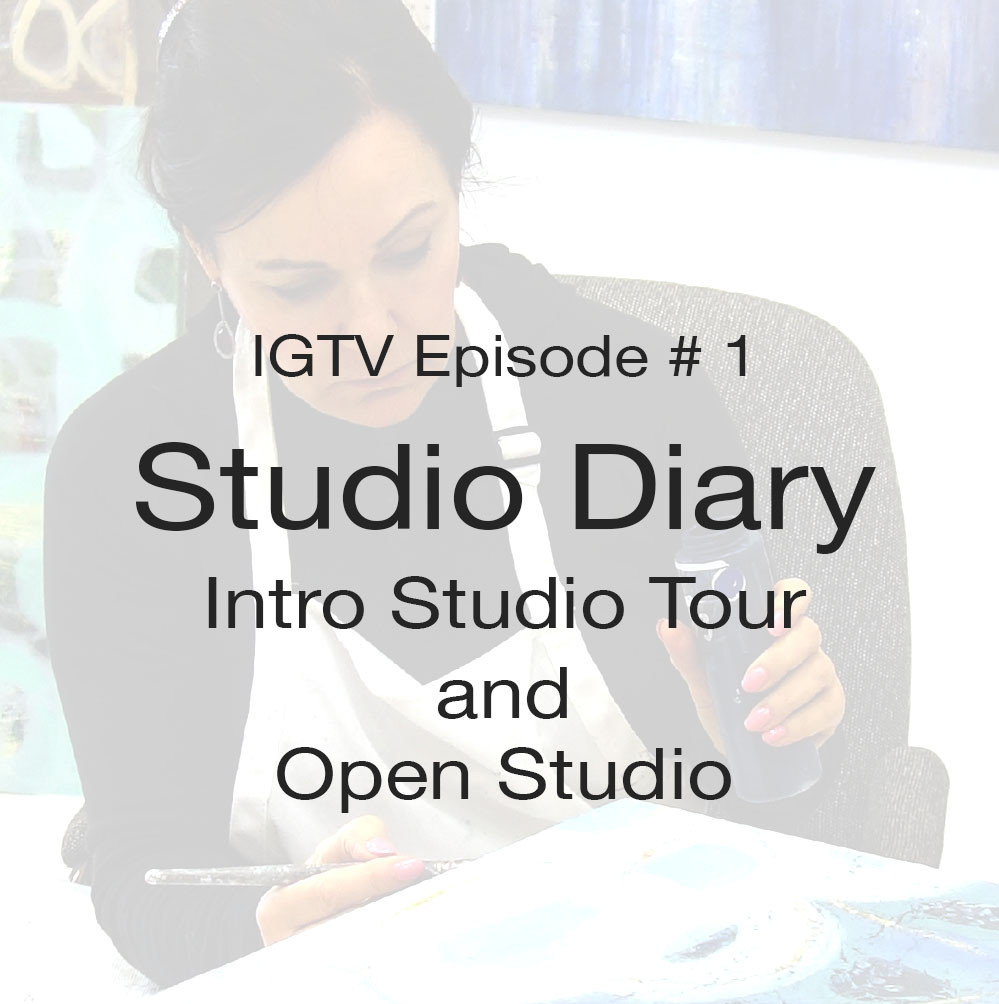Intro to IGTV video series, by artist Shirley Williams