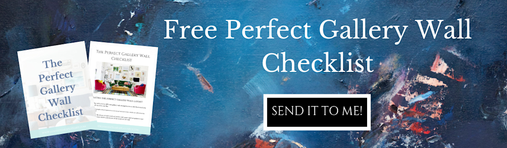 Free Perfect Gallery Wall Checklist