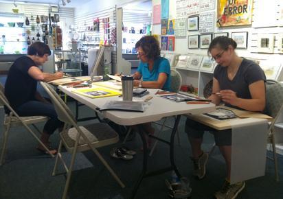 art classes, teaching art, local art classes, occoquan art