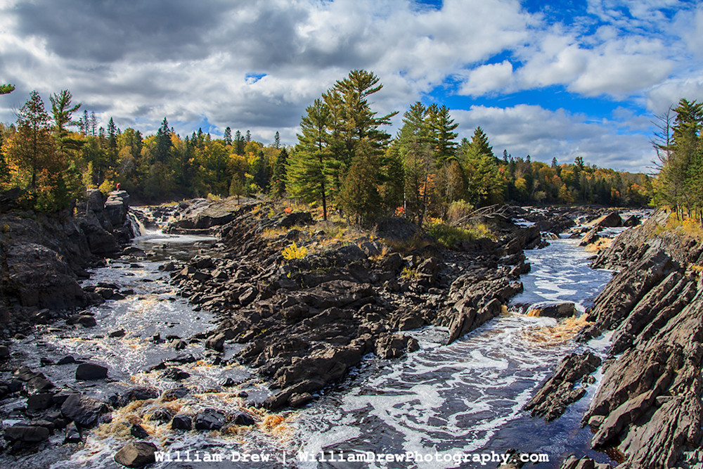 Raging River - Fall Photos | William Drew Photography