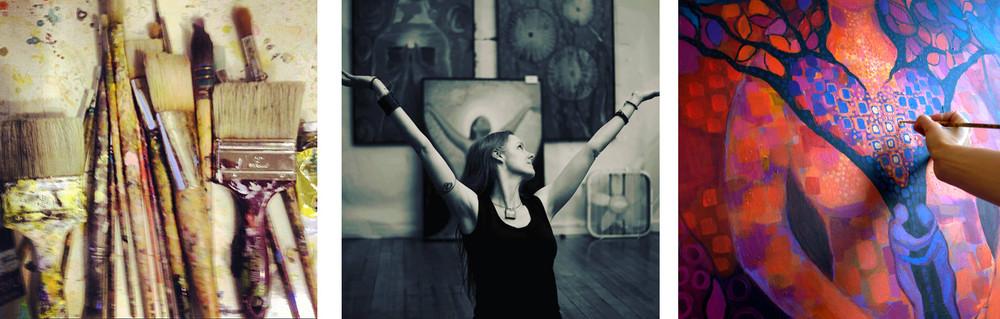 Jenny Hahn studio pics