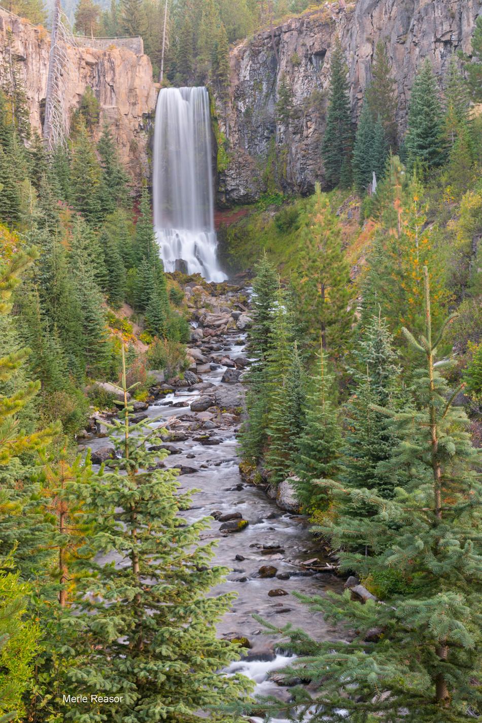 Buck Reasor Tumalo Falls