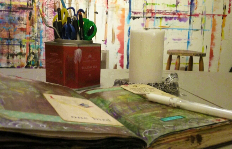 HeArt Journaling at Inside Out Studio