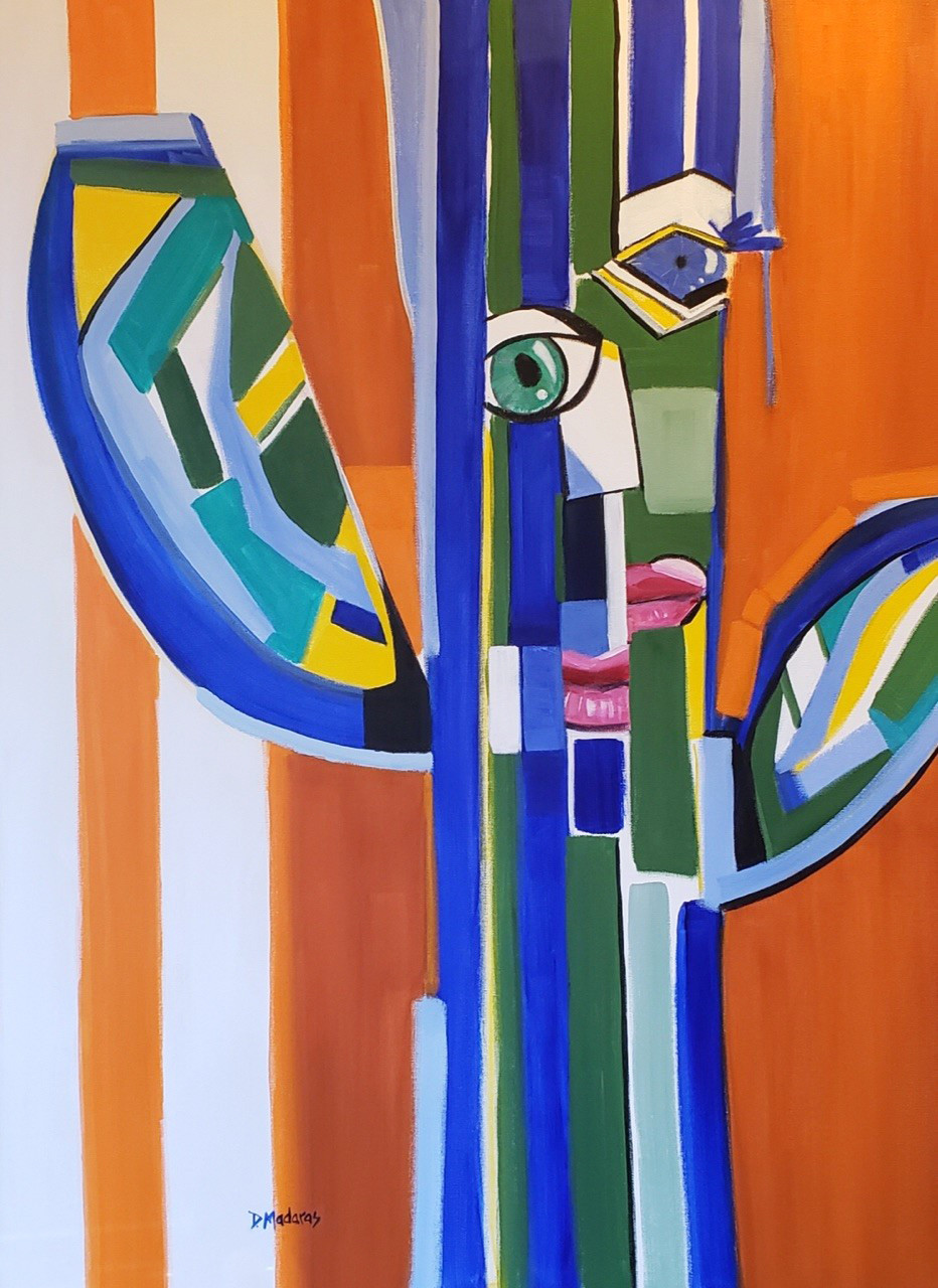 Saguaro Picasso Madaras Painting