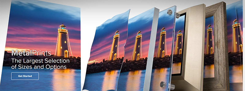 A variety of Metal Print options for your business wall space.