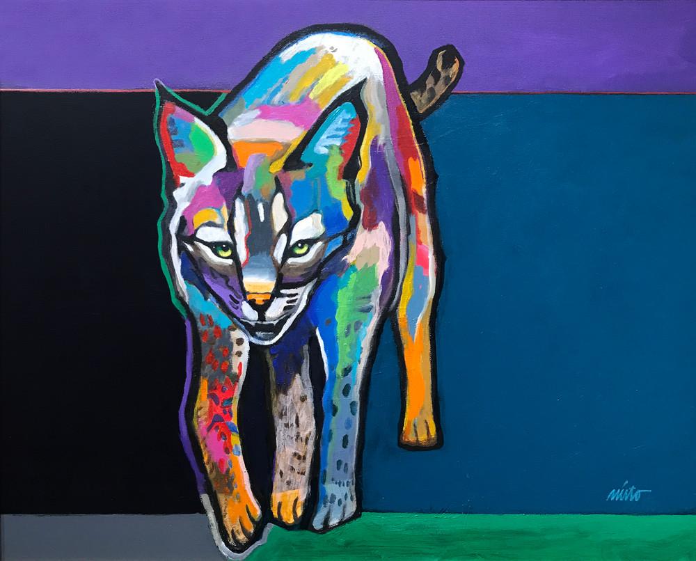 Wildcat Original Acrylic John Nieto