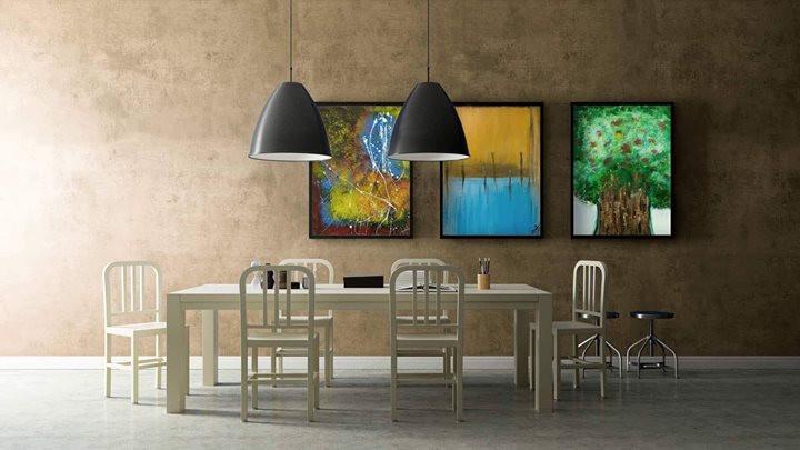 interior art by Julie J Rekha