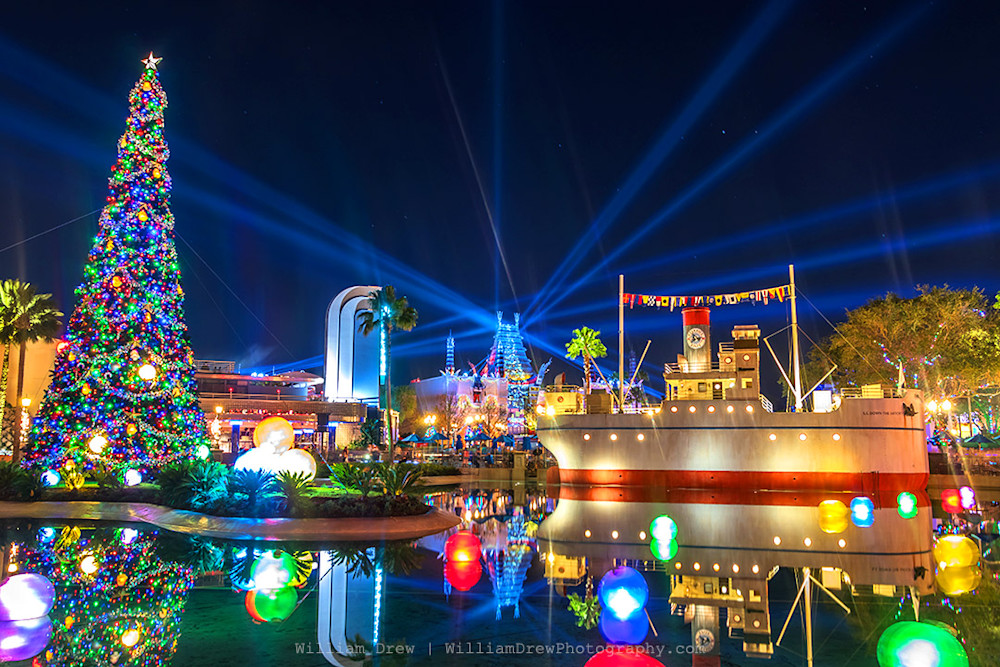 Hollywood Studios Christmas 5 - Disney Christmas Photos | William Drew Photography