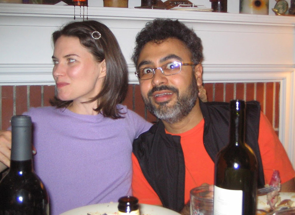 Krista and Abhay at Thanksgiving