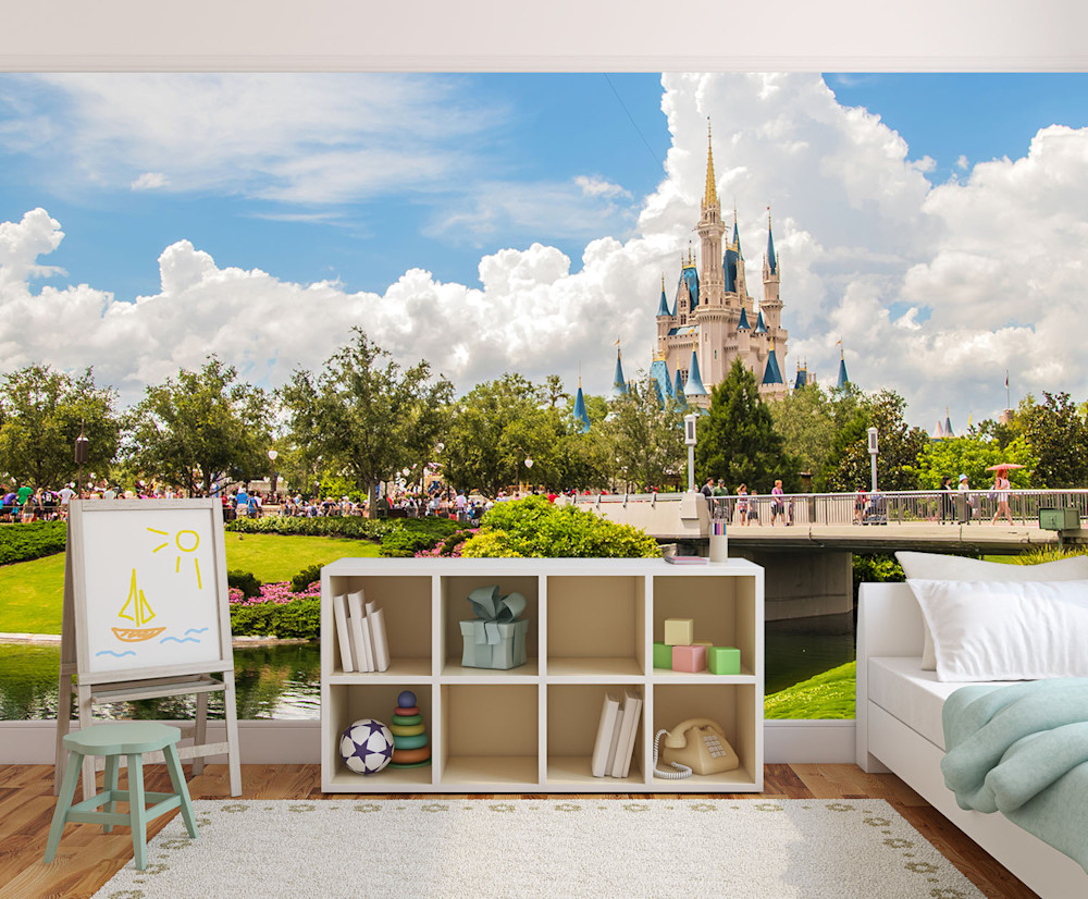 Perfect Disney Day - Magic Kingdom Wall Mural | William Drew Photography