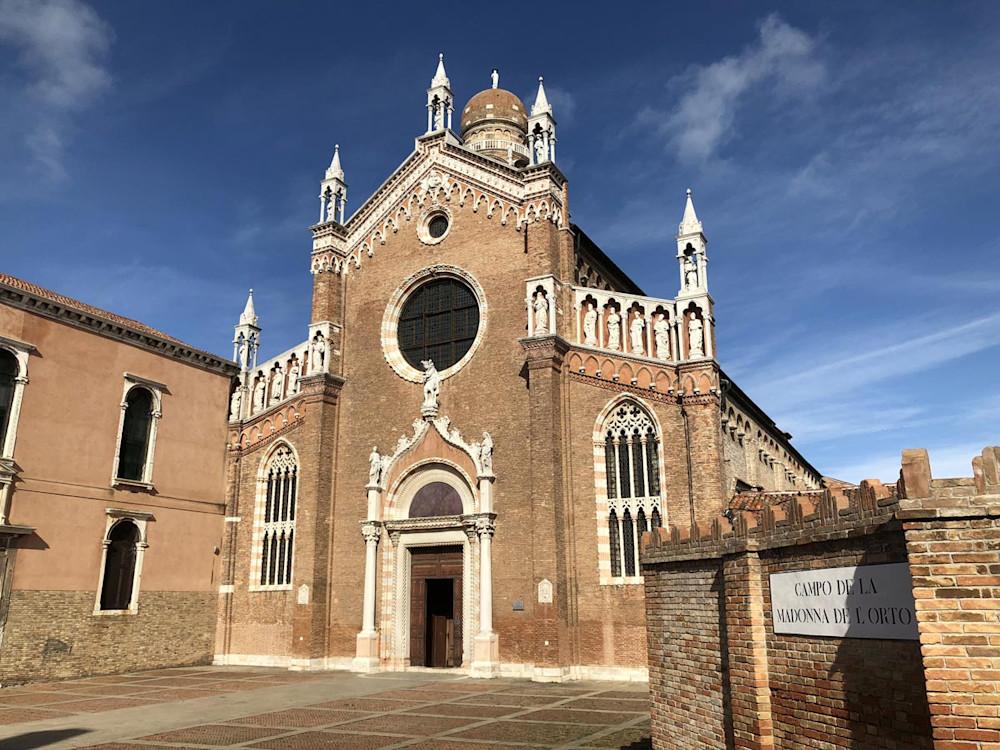 Madonna dell' Orto in Venice Italy