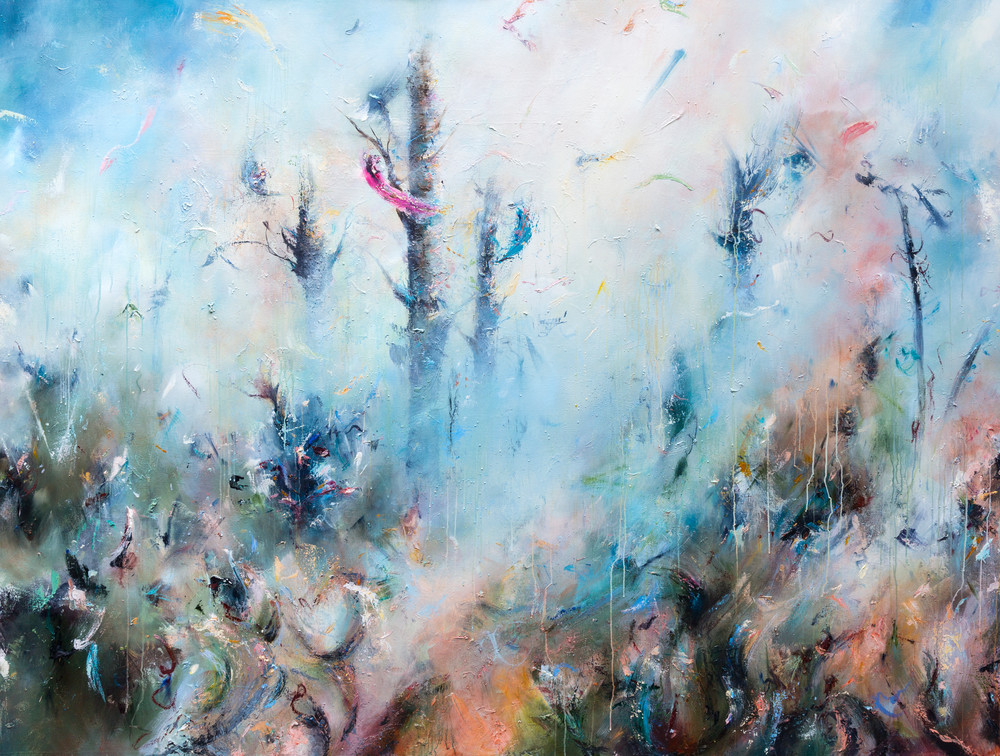 Contemporary Abstract Nature Painting