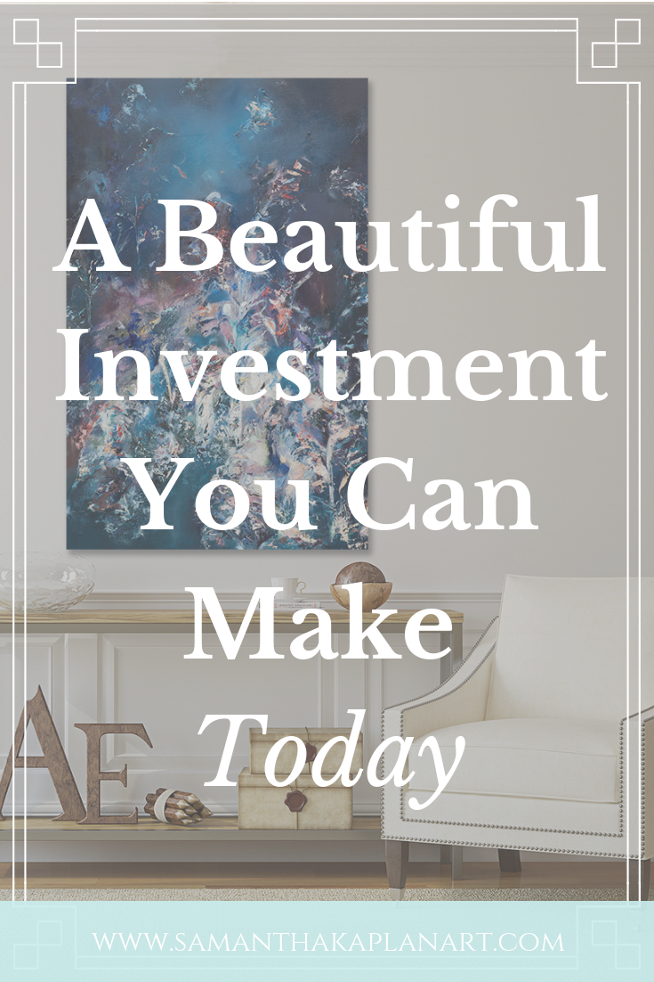 A beautiful investment you can make on your walls.
