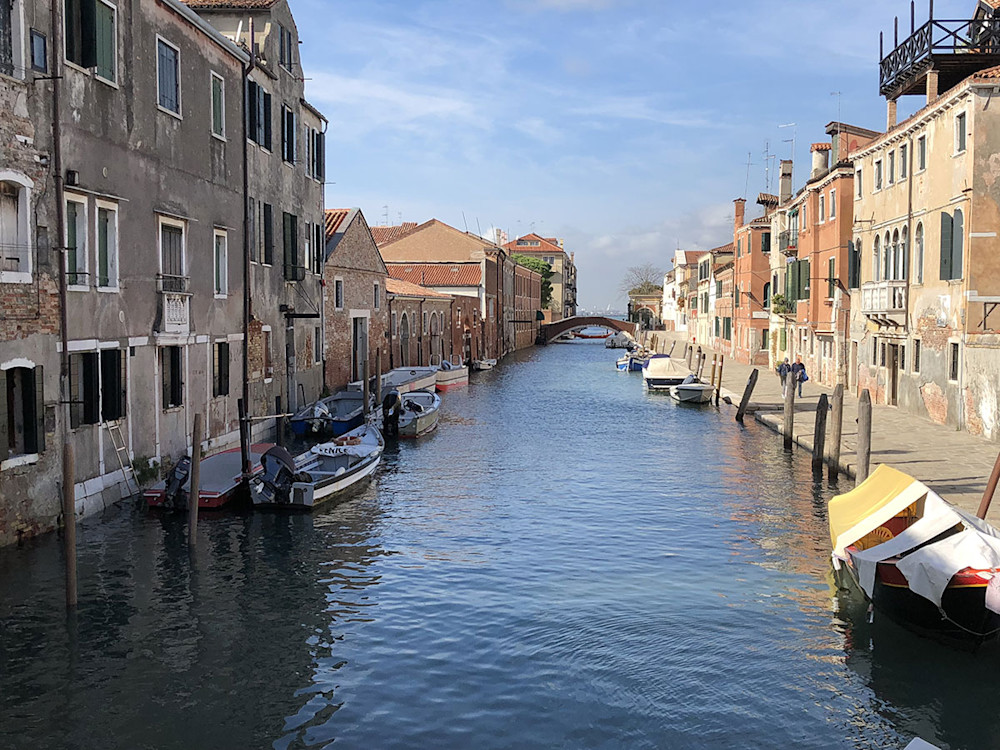 Island of Cannaregio in Venice