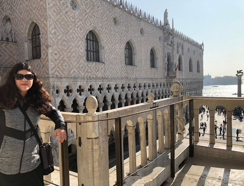 Doge's Palace from St. Mark's Basilica