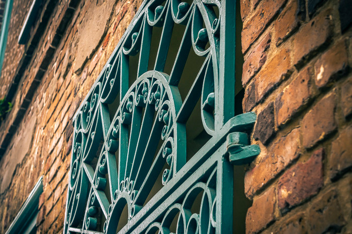 Wrought iron details