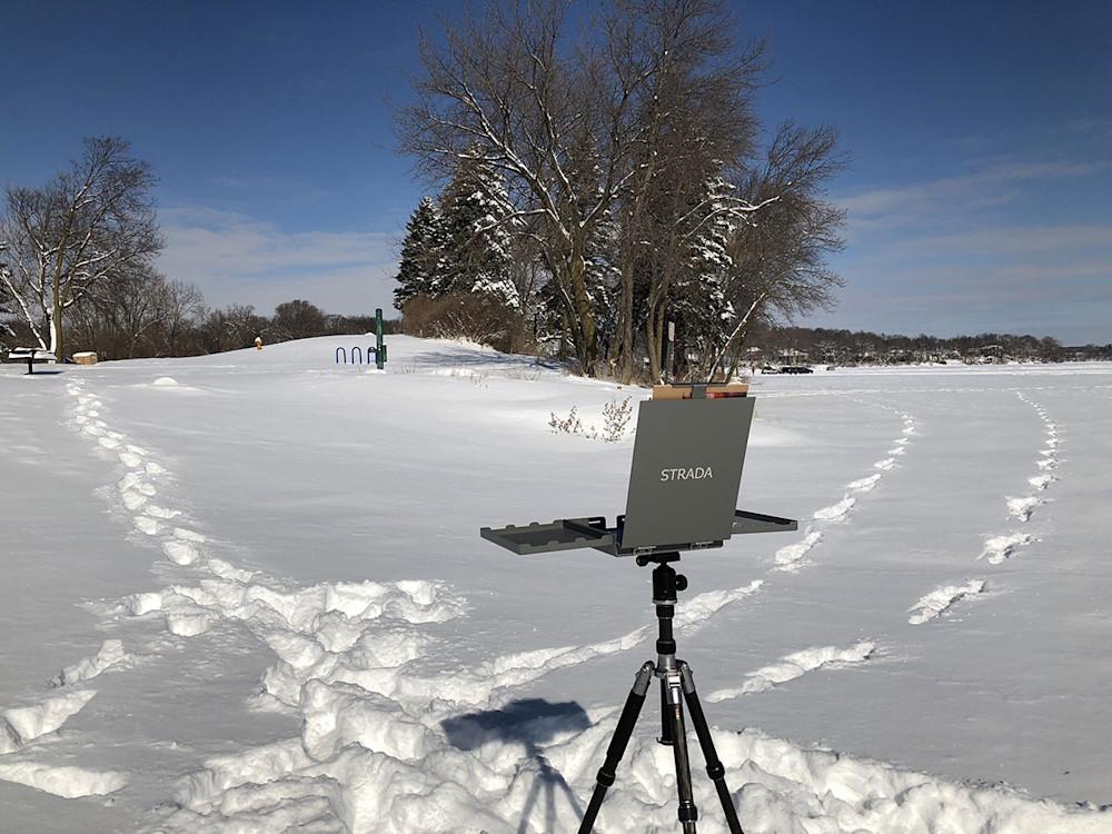 Winter Plein Air Painting Tips