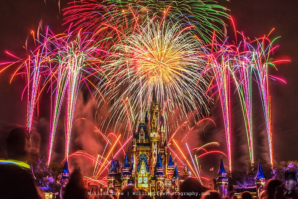 Happily Ever After Finale 1 Photograph - Disney Art Gallery | William Drew Photography
