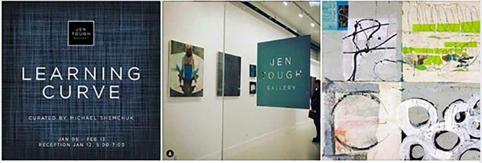 Learning Curve Exhibition at Jen Tough Gallery