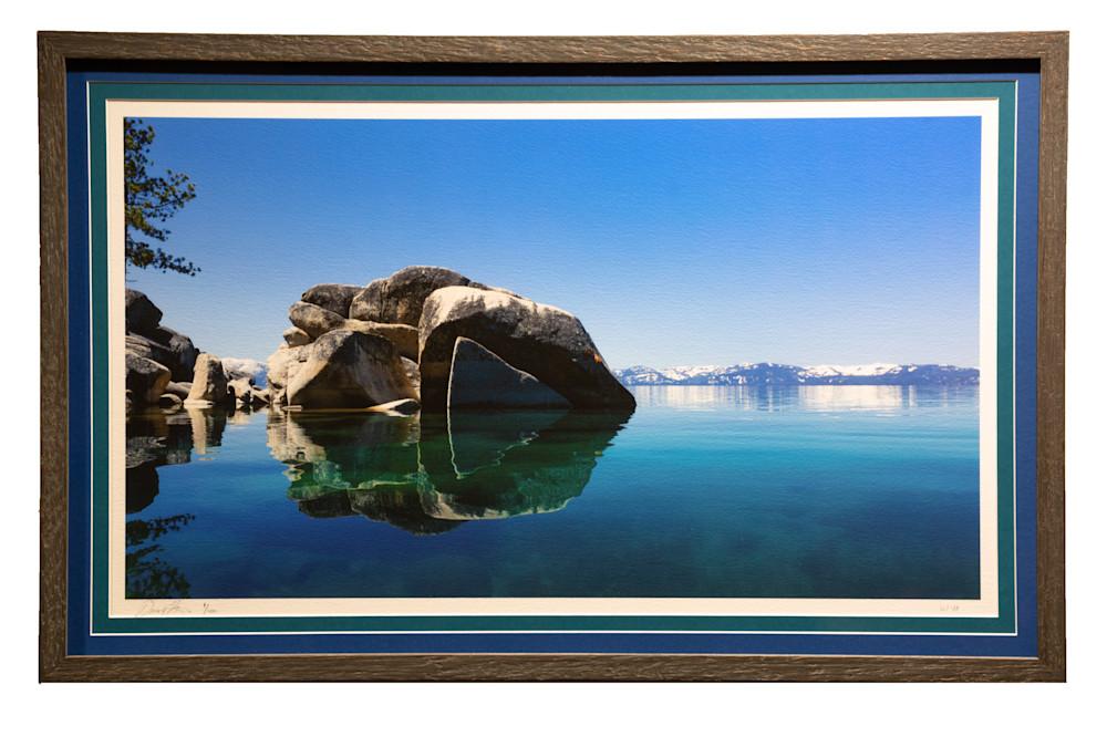 Lake Tahoe Framed Landscape Photography