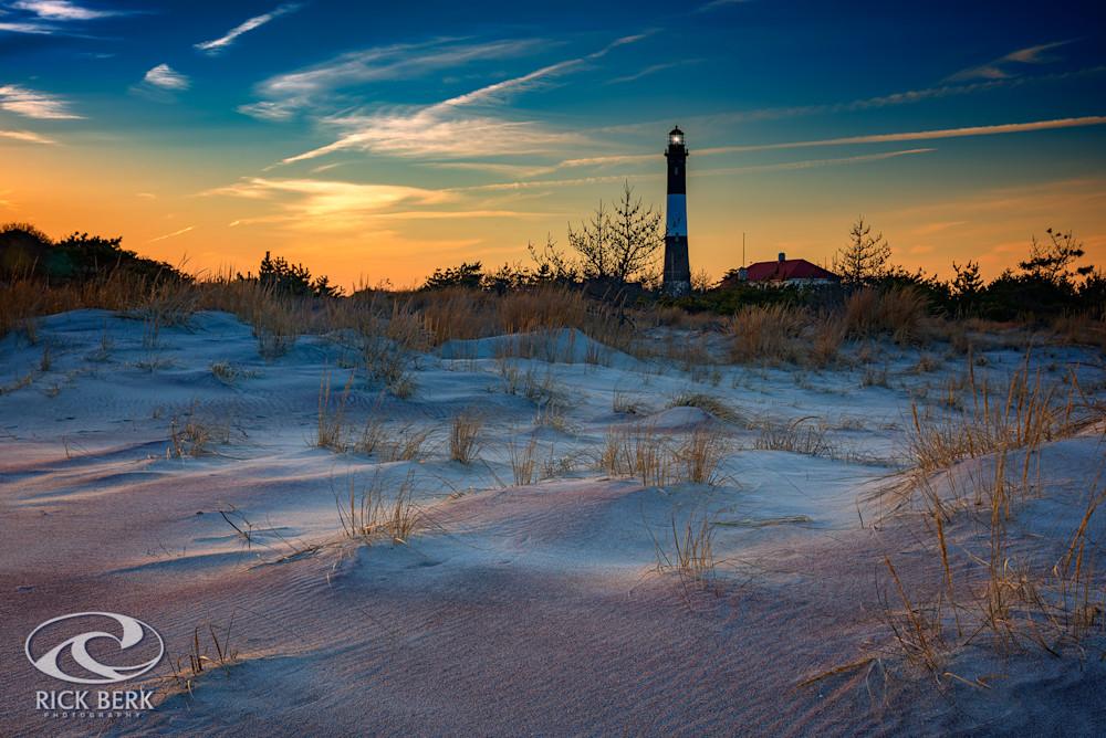 Sunset on Fire Island by Rick Berk