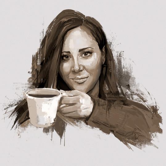 Lauren Daae - Coffee Painter