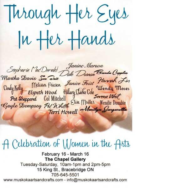 Through Her Eyes In Her hands