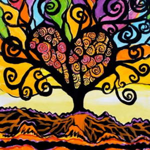 """""""Tree of Love"""" poster"""