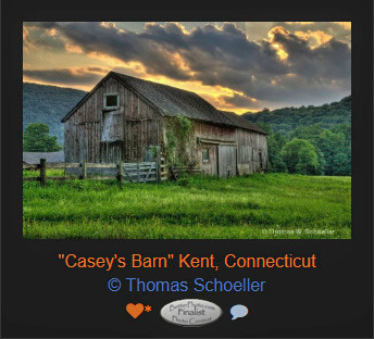 Casey's Barn is an Award winning photograph by Thomas Schoeller