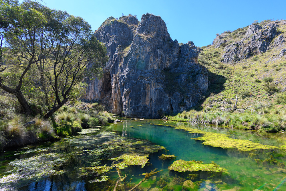 Blue Waterholes in Kosciuszko National Park