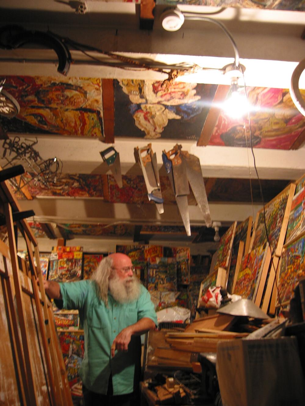 Mr Philip Sherrod's and his Art
