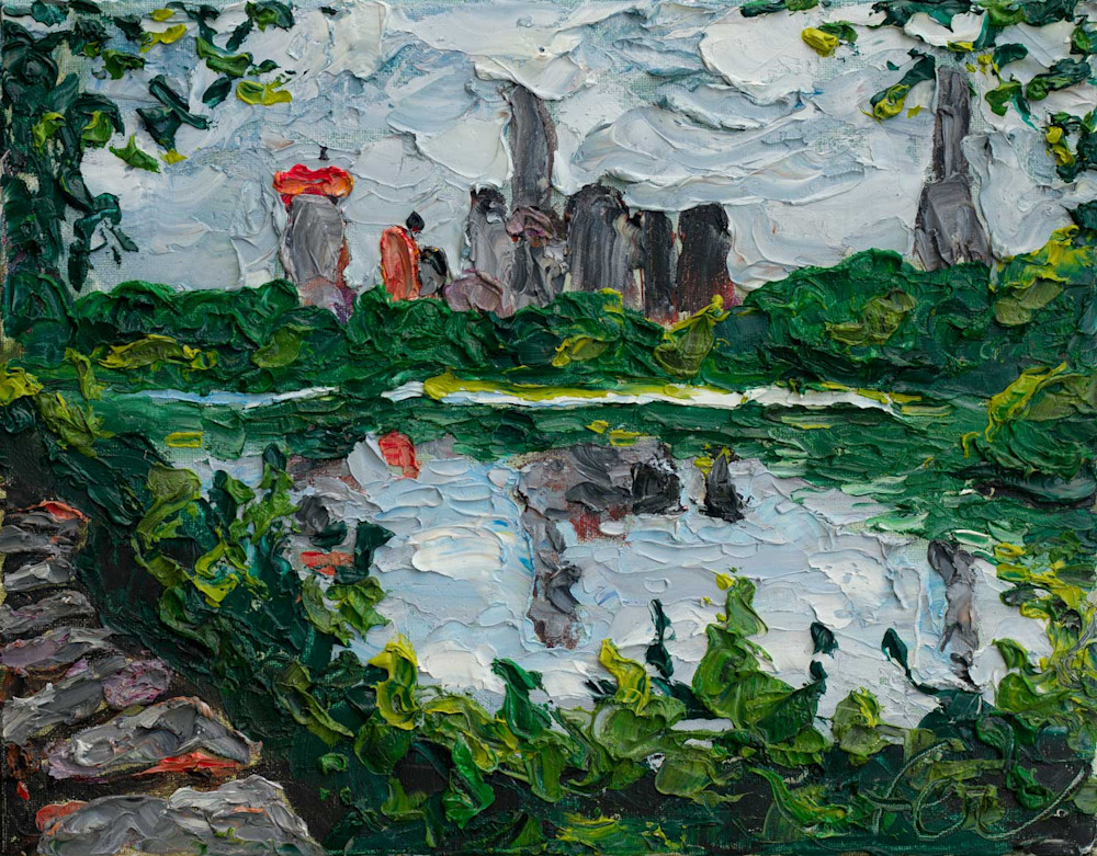 Central Park Lake NYC Art