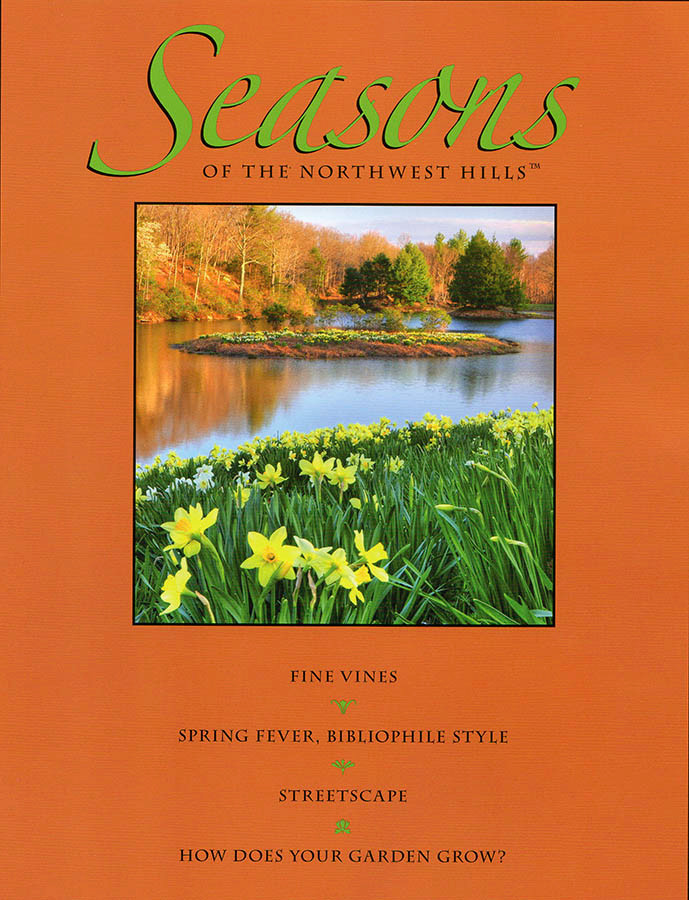 Spring Cover-Seasons of the Northwest Hills Magazine-Image © Thomas Schoeller Photography