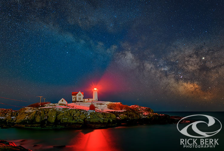 Milky Way Over the Nubble