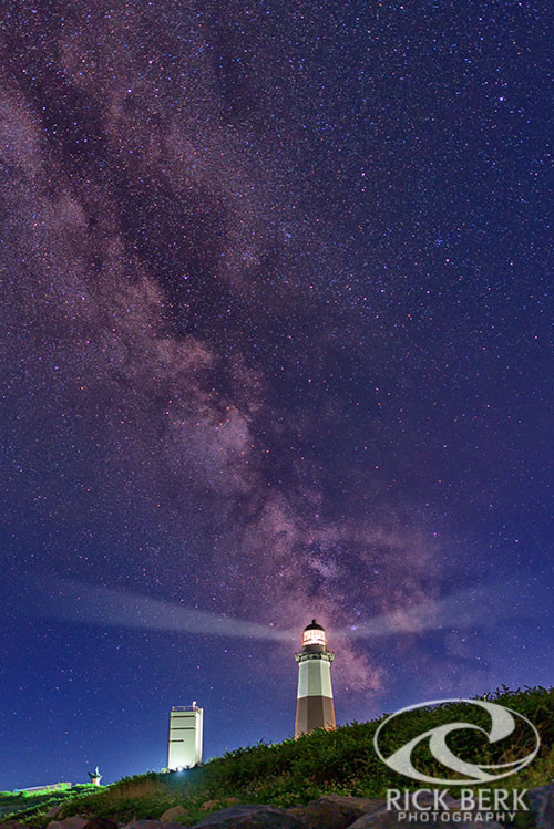 Montauk Point Lighthouse and the Milky Way