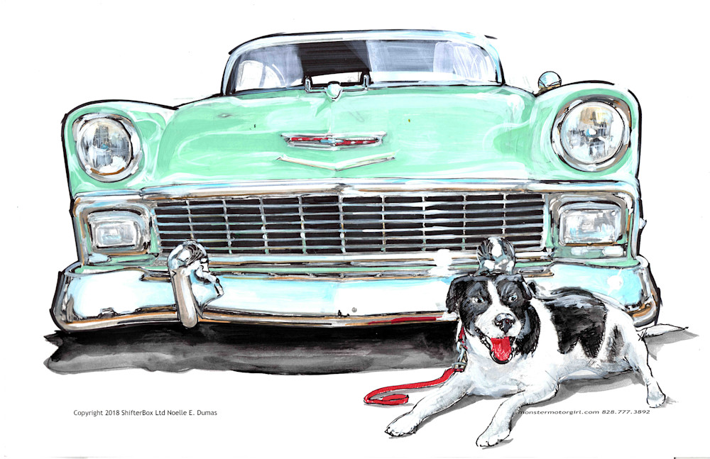 chevy custom art and pet portraits