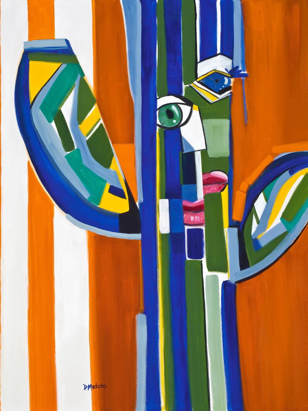 Southwest Art   Madaras   Saguaro Picasso   Tucson Art Gallery