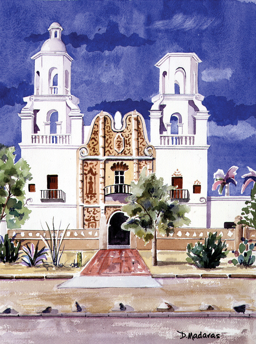 San Xavier Mission | Madaras | Tucson Art Gallery