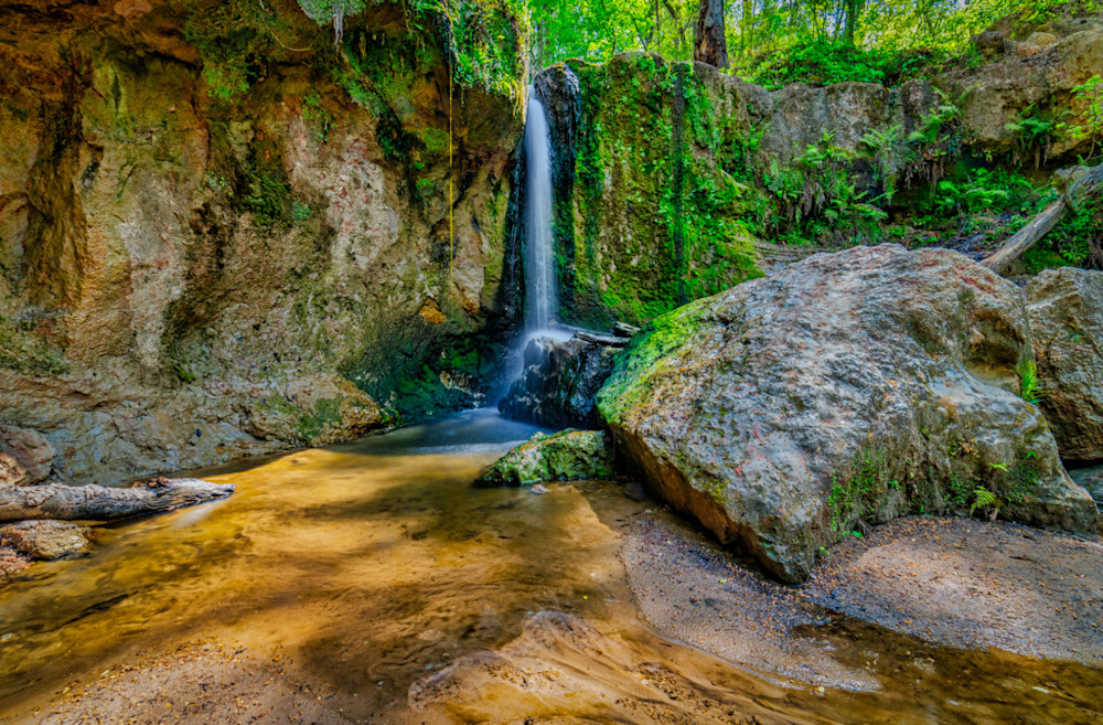 Clark Creek Natural Area in Mississippi's Tunica Hills is a hidden jewel for waterfall lovers.
