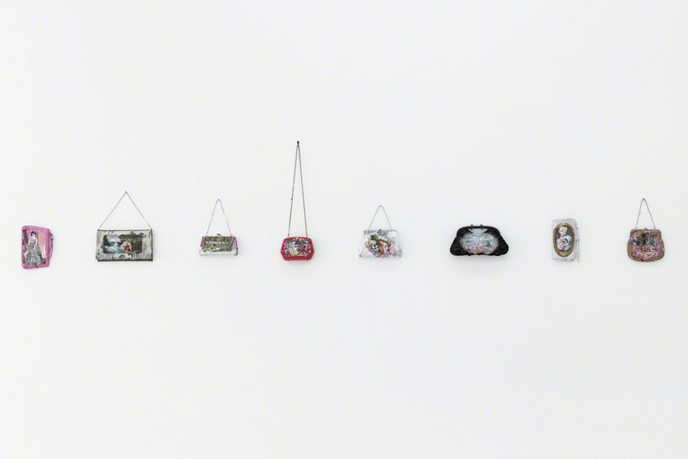 Purse Paintings by Annelie McKenzie