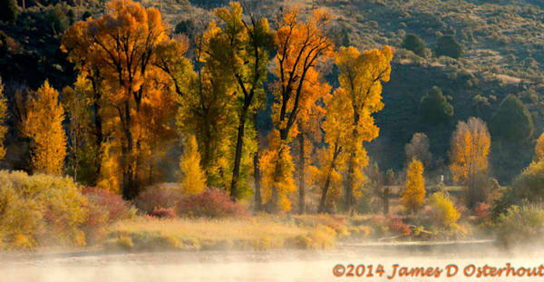 morning light on the south fork of the snake river