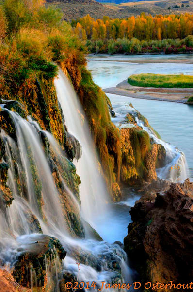 Fall Creek on the South Fork of the Snake River