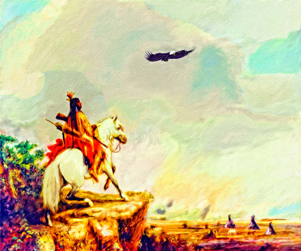 Artwork Of The American Indian - Native American Art.