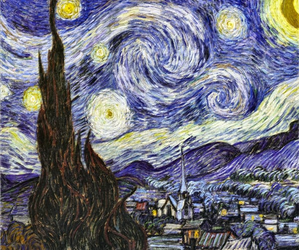 Starry Night Art Reproduction - The Gallery Wrap Store