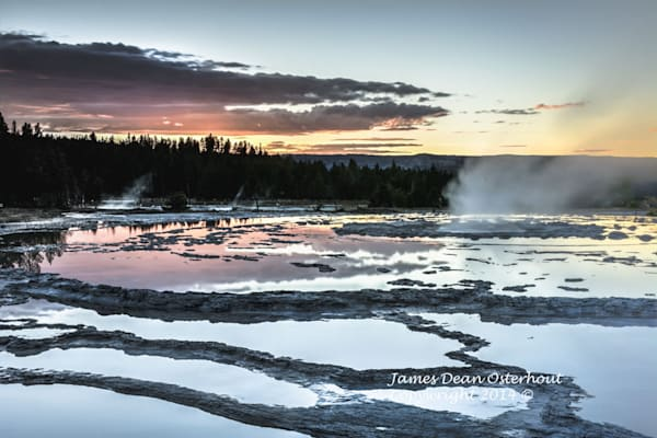 yellowstone national park, firehole river